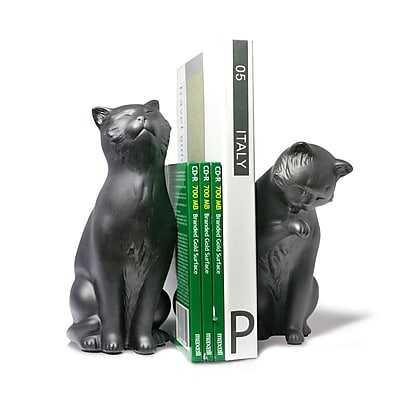 Winston Porter Cat Bookends