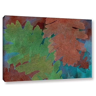 Brayden Studio Indian Summer 5 Graphic Art on Wrapped Canvas; 8'' H x 12'' W x 2'' D