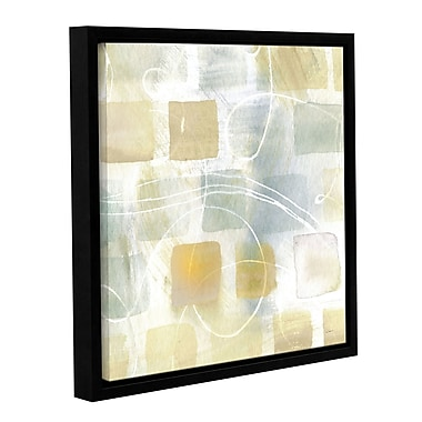 Brayden Studio Caracalla Neutral II Framed Graphic Art on Wrapped Canvas; 36'' H x 36'' W x 2'' D