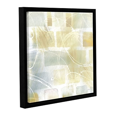 Brayden Studio Caracalla Neutral III Framed Graphic Art on Wrapped Canvas; 10'' H x 10'' W x 2'' D