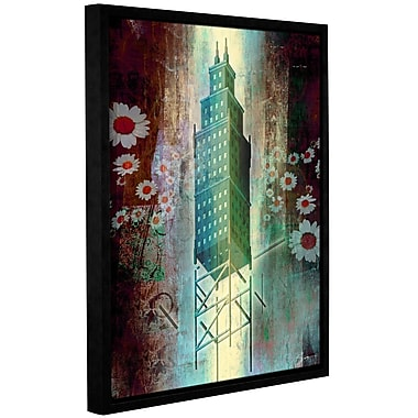 Ivy Bronx Spring Time in The City Framed Painting Print on Canvas; 18'' H x 14'' W
