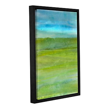 Ivy Bronx Landscape Iceland Framed Painting Print on Wrapped Canvas; 24'' H x 16'' W