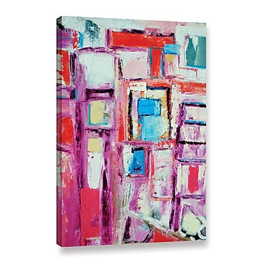 Ivy Bronx Angles Painting Print on Wrapped Canvas; 24'' H x 16'' W x 2'' D