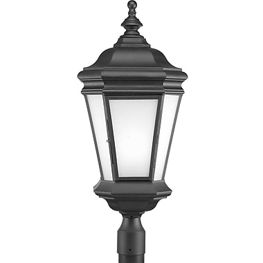 Alcott Hill Triplehorn 1-Light Traditional Lantern Head in Black