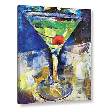 Ivy Bronx Summer Breeze Martini Painting Print on Wrapped Canvas; 24'' H x 18'' W x 2'' D