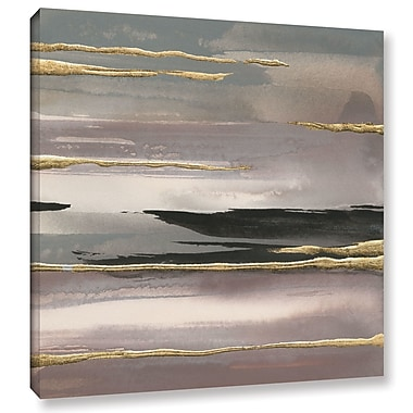 Ivy Bronx Gilded Morning Fog II Painting Print on Wrapped Canvas; 24'' H x 24'' W x 2'' D