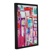Ivy Bronx Angles Framed Painting Print on Wrapped Canvas; 18'' H x 12'' W x 2'' D