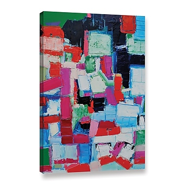 Ivy Bronx Summer Painting Print on Wrapped Canvas; 36'' H x 24'' W x 2'' D