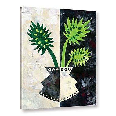 Ivy Bronx Pretty Palms III Graphic Art on Wrapped Canvas; 24'' H x 18'' W x 2'' D