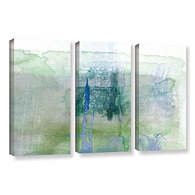 Ivy Bronx Statistics X' 3 Piece Set Painting Print on Canvas; 36'' H x 54'' W x 2'' D