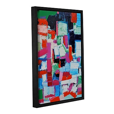 Ivy Bronx Summer Framed Painting Print on Wrapped Canvas; 24'' H x 16'' W x 2'' D