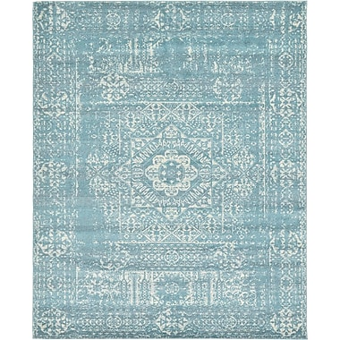 Mistana Delgado Brook Light Blue Area Rug; 8' x 10'