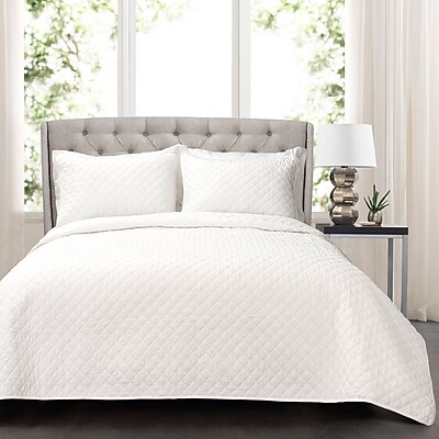 Ophelia & Co. Macomb 3 Piece Quilt Set; King