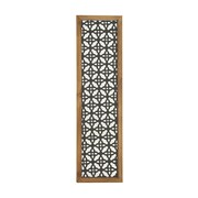 Mistana Traditional Metal Wood Wall Decor Panel