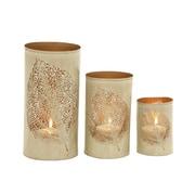 Mistana 3 Piece Metal Candlestick Set