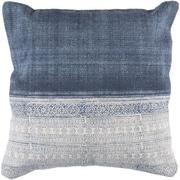 Mistana Friedman Striped Woven Cotton Throw Pillow