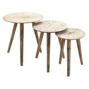 Mistana Charlita Round 3 Piece Nesting Tables