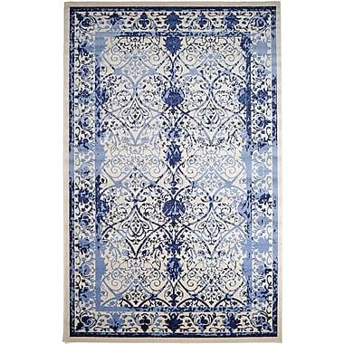 Mistana Chappel Blue Indoor/Outdoor Area Rug; 10' x 16'