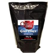 East Coast Coffee Gale Force Ground Coffee, Dark Roast, Intense