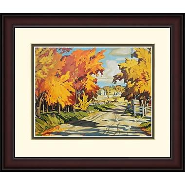 Northland Art Country Road par A.J. Casson, 34 x 38 po (S-NCAC012)