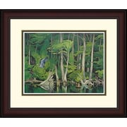 "Northland Art Blue Heron by A.J. Casson, 34"" x 38"" (S-SCAC04)"