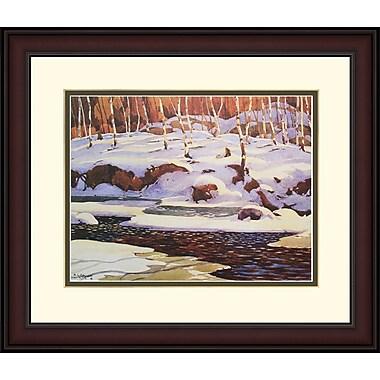 Northland Art ? Winter On The Don par A.J. Casson, 34 x 38 po (S-NCAC066)