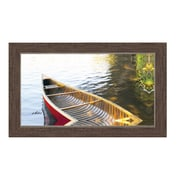 """Northland Art The Red Canoe by Anthony Randall, 28"""" x 48"""" (S-ARAN04T)"""