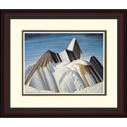 "Northland Art Mt. Robson by Lawren Harris, 34"" x 38"" (S-SCLH38)"