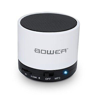 Bower Compact Bluetooth Speaker, White