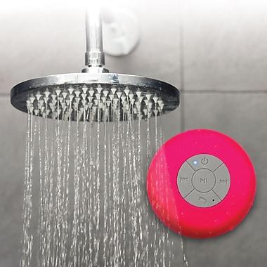 Bower - Haut-parleur IPX4 étanche avec Bluetooth, rose