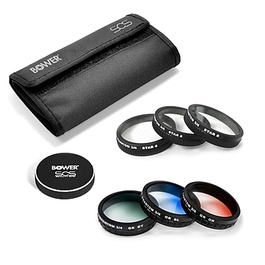 Bower 8-Piece Special Effects Filter Kit for DJI P3A, P3P & P4