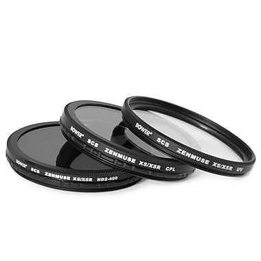 Bower Filter Kit for DJI Zenmuse X5 / X5R (3-Piece)
