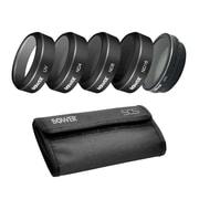 Bower Sky Capture Series Drone Filter Kit for DJI Phantom 4 PRO- 4-Piece UV + CPL + ND4 + ND8 + ND16