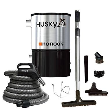 Husky – Aspirateur central Nanook et accessoires, 3000 pi ca (NNK-155I-NAENSB)