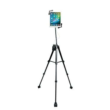 CTA Rolling Portable Tripod Stand for 7-13 Inch Tablets (PAD-RPTS)