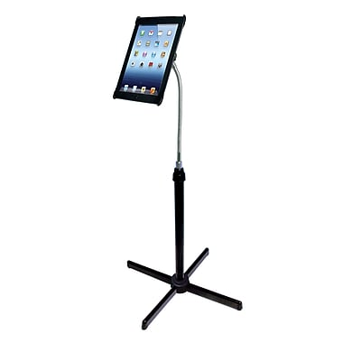 CTA Height-Adjustable Gooseneck Floor Stand for iPad 2nd-4th Generation (PAD-AFS)