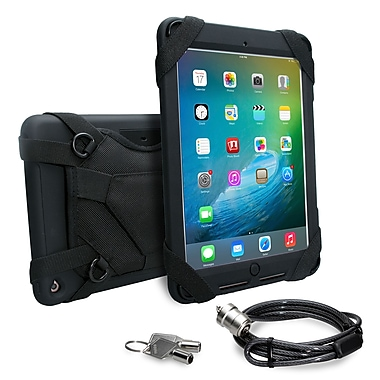 CTA Silicone Security Carrying Grip Case with Anti-Theft Cable for iPad Air 2 & iPad Pro 9.7 (PAD-SCC)