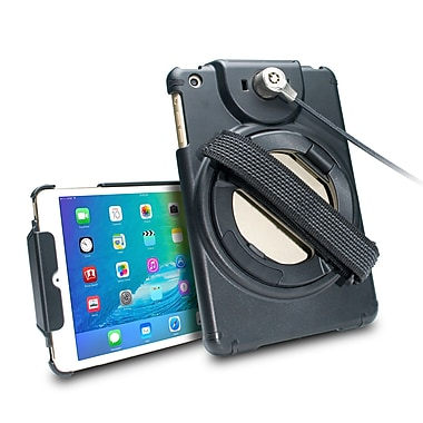 CTA Anti-Theft Case with Built-In Grip Stand for iPad Mini (PAD-ACGM)