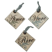 Cathay Importers Assorted Wood Hanging Quotes (EC-24-0134)