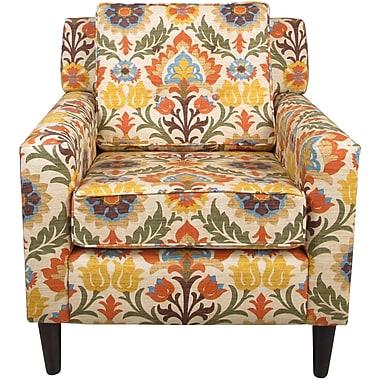 Mistana Greer Adobe Armchair; Denim Blue