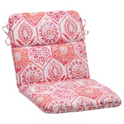 Mistana Dyanna Square Outdoor Chair Cushion; Pink / Orange / Turquoise / White