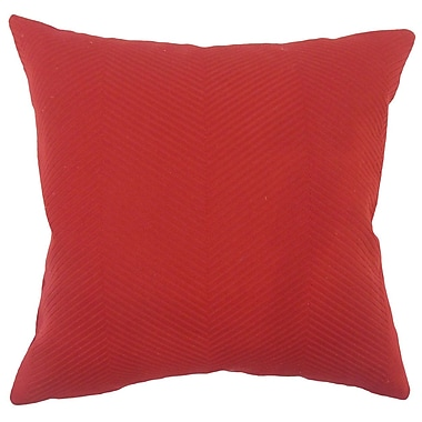 Red Barrel Studio Alona Solid Down Filled 100pct Cotton Lumbar Pillow
