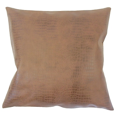 Union Rustic Socwell Solid Down Filled Throw Pillow; 20'' x 20''