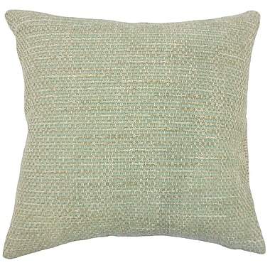 Red Barrel Studio Ectasia Solid Down Filled 100pct Cotton Throw Pillow; 24'' x 24''