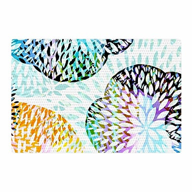 East Urban Home Jessica Wilde Tropical Flora Abstract Pastel Area Rug; 2' x 3'
