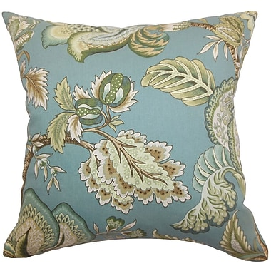 Darby Home Co Cathey Floral Floor Pillow