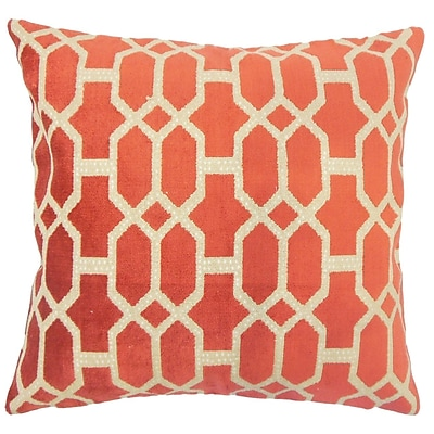Darby Home Co Pepper Geometric Down Filled Throw Pillow; 20'' x 20''