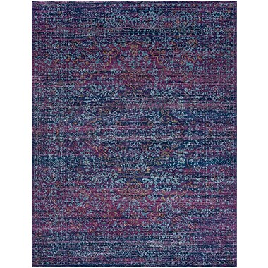 Mistana Hillsby Purple/Blue Area Rug; 7'10'' x 10'3''