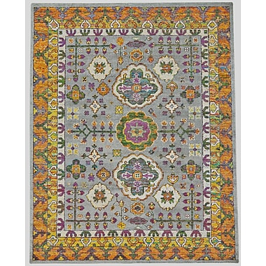 Mistana Delrico Hand-Knotted Meadow Area Rug; 4' x 6'