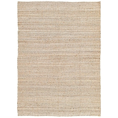 Mistana Conner Hand-Woven Natural Area Rug; 8' x 11'